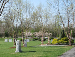Spring season at the Garden of Remembrance