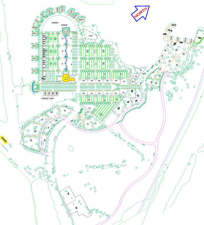 The Garden of Remembrance Site Plan