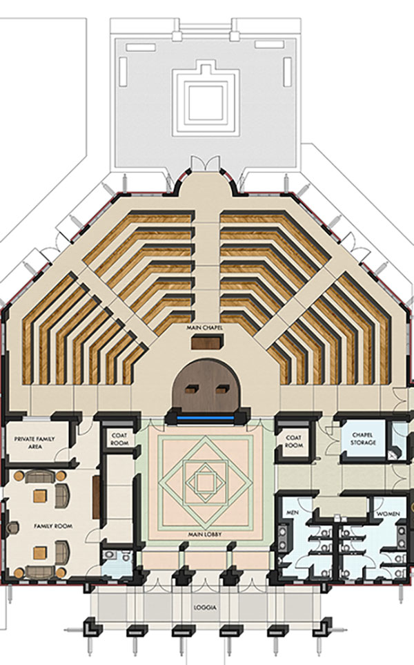 Future Chapel floorplan