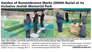 2,000th Burial
